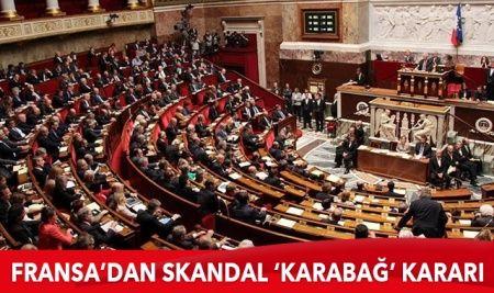 Fransız Senatosu'ndan skandal Karabağ kararı