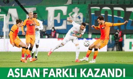 Galatasaray Rize'de farklı kazandı
