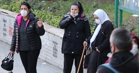 Görüntülenen dilenciler, taksi çağırarak kaçtı