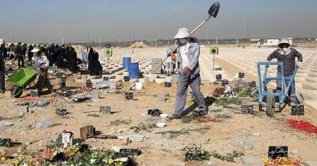 İran'da son 24 saatte 391 kişi Kovid-19'dan hayatını kaybetti