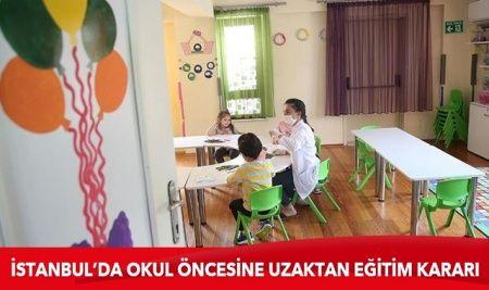 İstanbul'da okul öncesi için yeni genelge