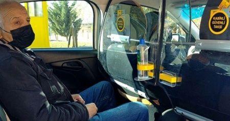 Koronavirüs önlemleri artıyor: Takside şeffaf panel dönemi