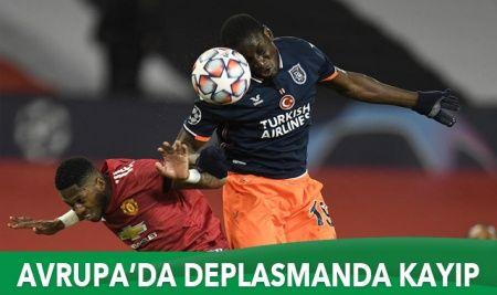 Manchester United Başakşehir'i 4-1 mağlup etti