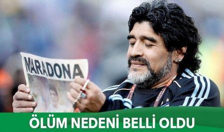 Maradona'nın ölüm nedeni belli oldu: İşte otopsi raporu