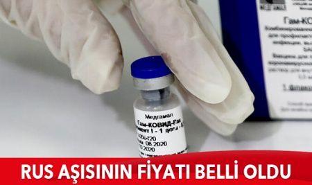 Rusya'nın geliştirdiği Sputnik V aşısının fiyatı belli oldu