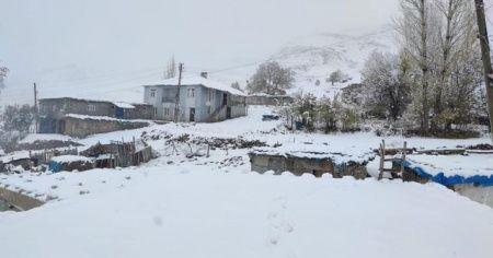 Şırnak'a lapa lapa kar yağdı!