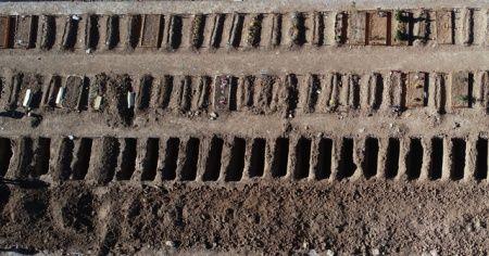Sivas'ta 2 bin mezar hazırlandı