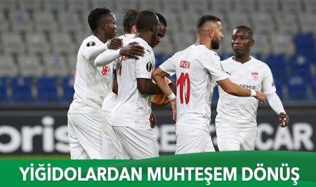 Sivasspor'dan muhteşem dönüş