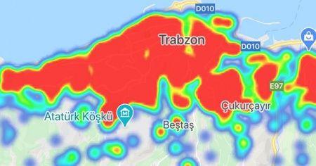 Trabzon kırmızı alarm veriyor