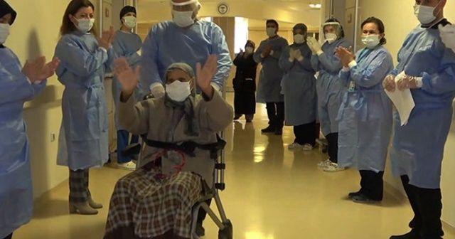113 yaşındaki Arzu nine koronavirüsü yendi