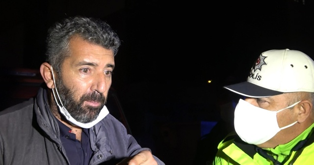 Alkollü sürücü önce inkar etti sonra 187 promil üfledi