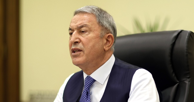 Bakan Akar'dan ABD'nin Türkiye'ye yönelik S-400 yaptırım kararına tepki