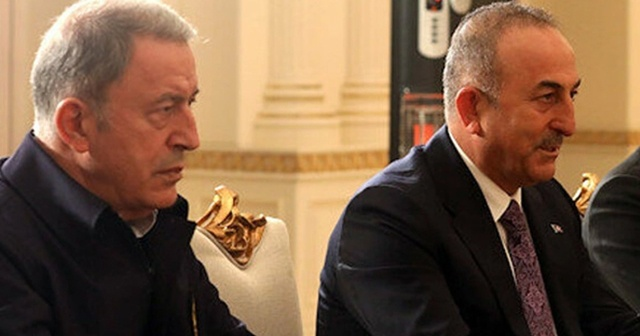 Bakan Akar ve Bakan Çavuşoğlu Ukrayna'ya gidecek