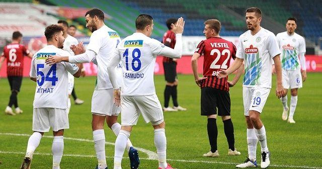 Çaykur Rizespor Ziraat Türkiye Kupası'nda son 16 turuna yükseldi