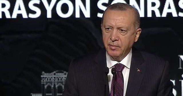 Cumhurbaşkanı Erdoğan: Son 18 yılda 4 bin 440 eseri yeniden ait olduğu topraklara kavuşturduk