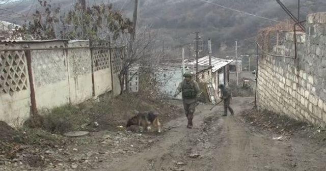 Dağlık Karabağ'da mayına basan Rus askeri öldü