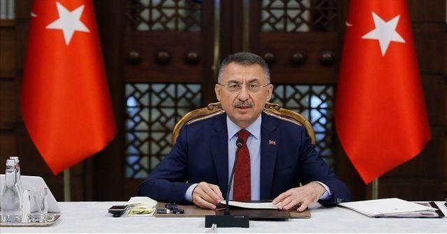 """Fuat Oktay: """"Türkiye'nin dik duruşunu herhangi bir ülkenin yaptırım kararı etkileyemez."""""""