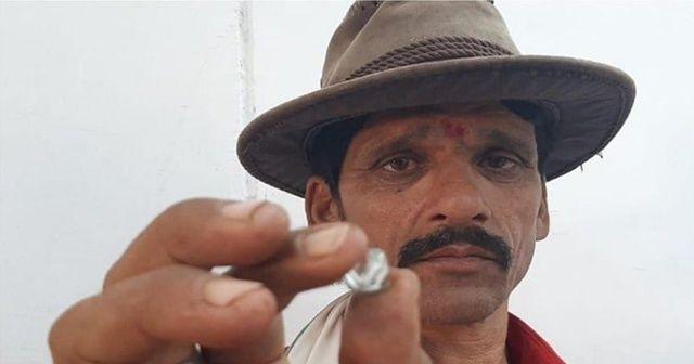 Hintli çiftçi 1 günde milyoner oldu