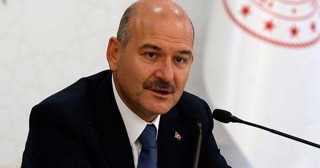 İçişleri Bakanı Soylu Beşiktaş'taki terör saldırısı şehitlerini andı