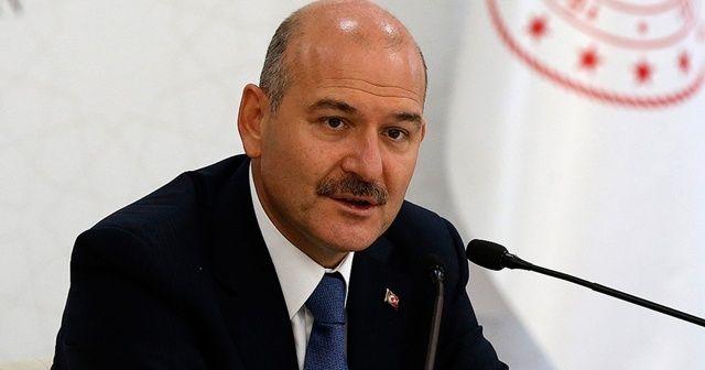 İçişleri Bakanı Soylu'dan Yunan Bakana tepki