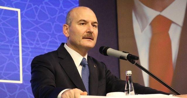 İçişleri Bakanı Soylu'dan Yunanistan'ın göçmenlere insanlık dışı muamelesine tepki