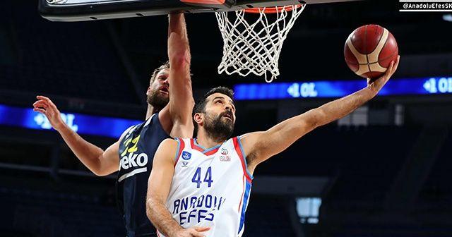 ING Basketbol Süper Ligi: Anadolu Efes: 85 - Fenerbahçe: 72