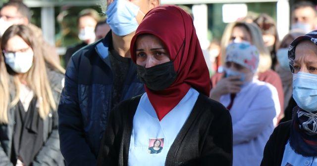 Korona virüse yenik düşen Nihal hemşire toprağa verildi