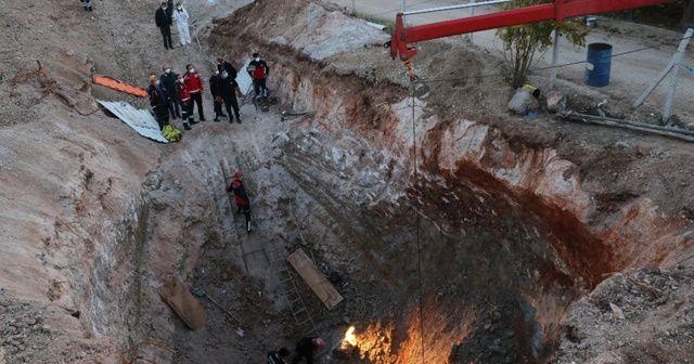Kuyu açarken göçük altında kalan işçinin cansız bedenine ulaşıldı