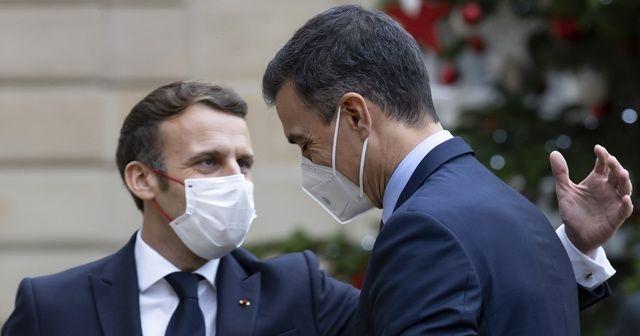 Macron'la temaslı İspanya Başbakanı karantinada
