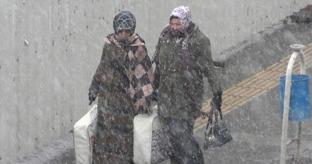 O illerde yaşayanlar dikkat! Karla karışık yağmur ve kar geliyor