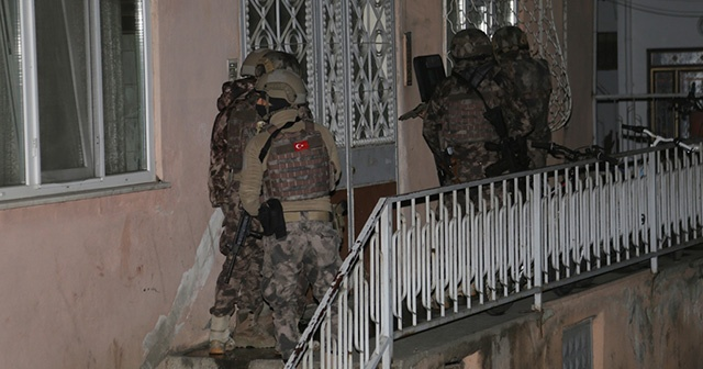 Ordu'da terör örgütü DEAŞ'a yönelik operasyon