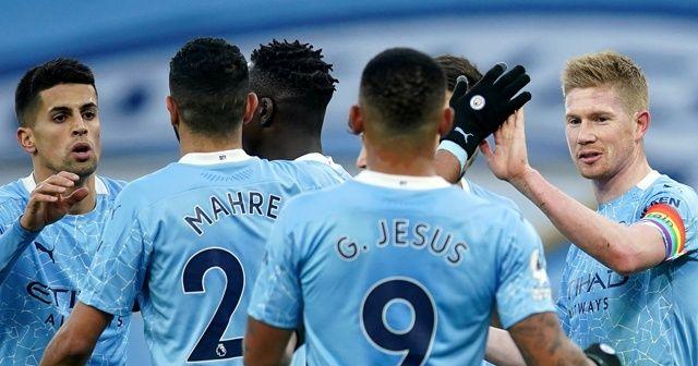 Premier Lig'de Manchester City, Fulham'ı yendi
