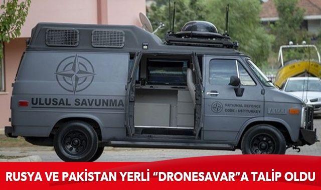 """Rusya ve Pakistan yerli """"mobil dronesavar""""a talip oldu"""