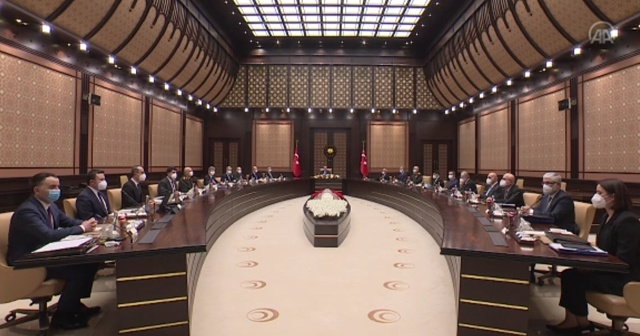 Savunma İcra Komitesi Beştepe'de toplandı