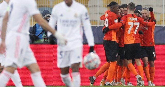 Shakhtar Donetsk, Real Madrid'i yine yendi