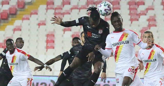 Sivasspor sahasında galibiyete hasret
