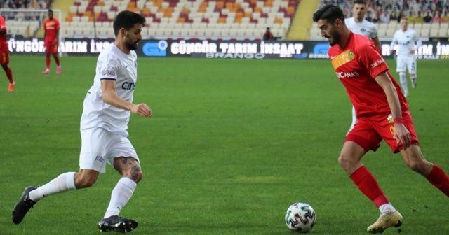 Yeni Malatyaspor, Kasımpaşa'yı 2-0 mağlup etti