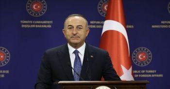 Bakan Çavuşoğlu, Azerbaycan mevkidaşı ile görüştü.