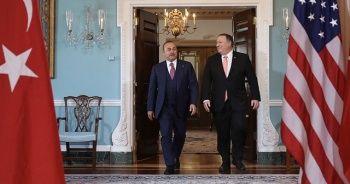 Bakan Çavuşoğlu Türkiye'nin tepkilerini Pompeo'ya iletti
