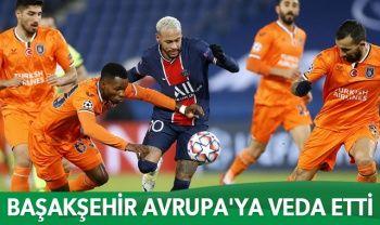 Başakşehir Şampiyonlar Ligi son maçında PSG'ye 5-1 yenildi
