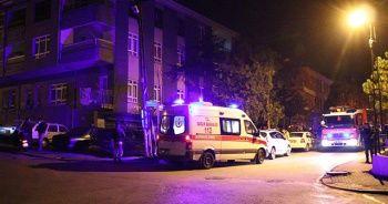 Başkent'te yalnız yaşayan yaşlı kadın, evinde çıkan yangında öldü