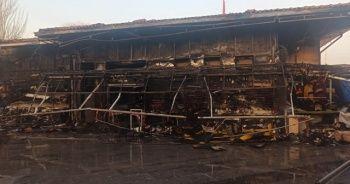 Başkent'teki yangının boyutu gün ağarınca ortaya çıktı