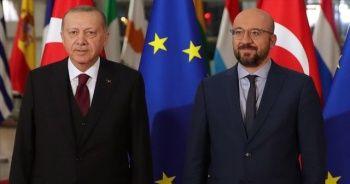 Cumhurbaşkanı Erdoğan, Avrupa Birliği Konseyi Başkanı ile görüştü