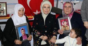 Emine Erdoğan'dan Diyarbakır annelerine ilişkin paylaşım