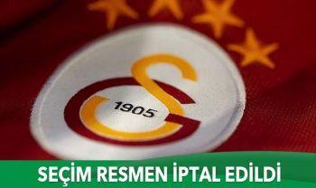Galatasaray'da seçim resmen iptal edildi