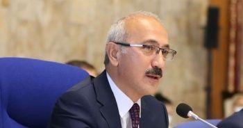 """Hazine ve Maliye Bakanı Elvan'dan yeni yıl mesajında """"reform"""" vurgusu"""