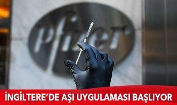 İngiltere'de Pfizer'in BioNTech'le geliştirdiği Kovid-19 aşısı 8 Aralık'ta yapılmaya başlanacak