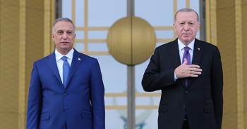 Irak Başbakanı Kazımi Ankara'da