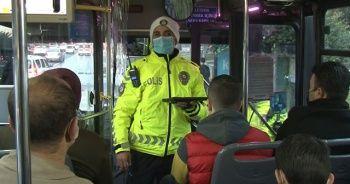 İstanbul'da toplu taşımada sıkı denetim