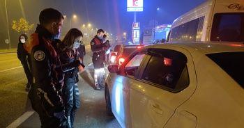 Kısıtlamaya uymayan 17 kişiye 71 bin lira ceza yağdı